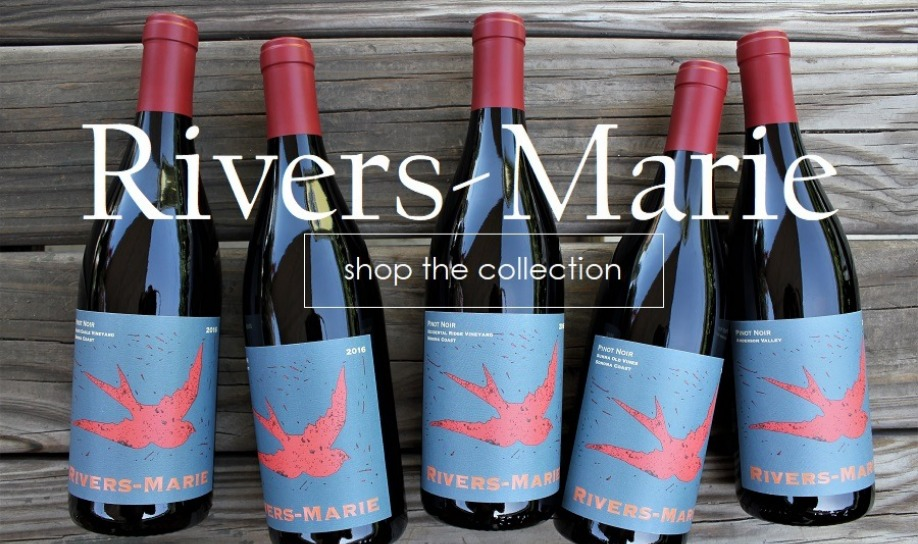 New in The Gallery | 2016 Rivers-Marie Pinot Noir and Chardonnay