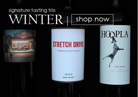 WINTER | Signature Tasting Trio features 3 wines for $98