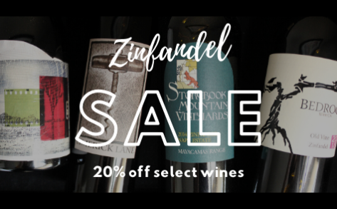 20% off select Zinfandel | shop the collection